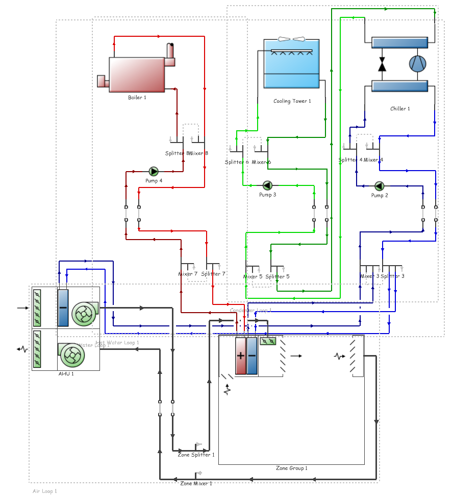 Features Designbuilder Israel Hvac Drawing Key Include